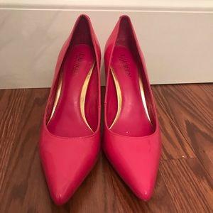 Ralph Lauren Pink Pumps Size 9